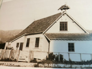 St Andrew's Church – early days PATAKA Arts + Museum