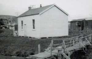 First public school building donated by James Walker. Photo courtesy Bob Maysmor Plimmerton: A Colourful History