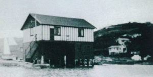 Clubhouse after completion in 1929 Photo courtesy Plimmerton Boating Club 75 Jubilee book