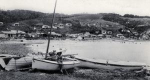 Karehana Bay early 1920s Photo courtesy Mary Casey Collection and Pataka Art + Museum, Porirua (C_4_47)