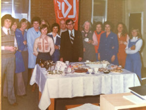 Celebrating the new Post Office 1973 Photo courtesy Mary Casey